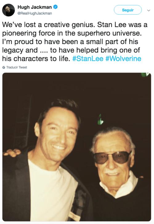 Avengers reaccionan a la muerte de Stan Lee