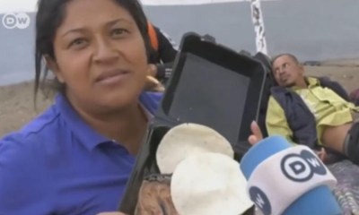 Detienen A Lady Frijoles, Lady Frijoles Detenida, Miriam, Frijoles, Migrantes, Caravana Migrante
