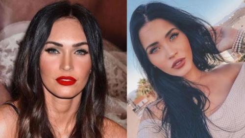 Megan Fox tiene una doble en Brasil