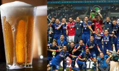 Restaurante regalará cerveza si el Cruz Azul es campeón