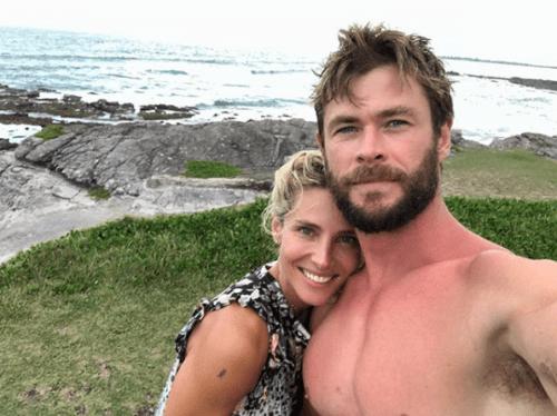 Hijos De Chris Hemsworth Creen Que Su Padre Es Thor