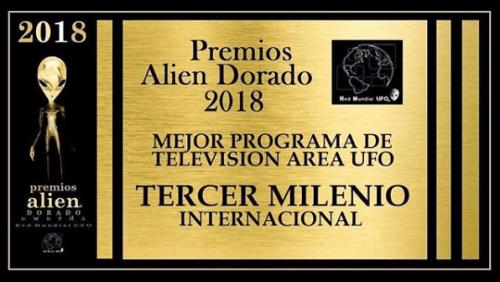 Jaime Maussan galardonado con el premio Alien Dorado 2018