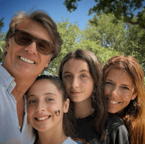 Juan Soler publica foto con ex esposa