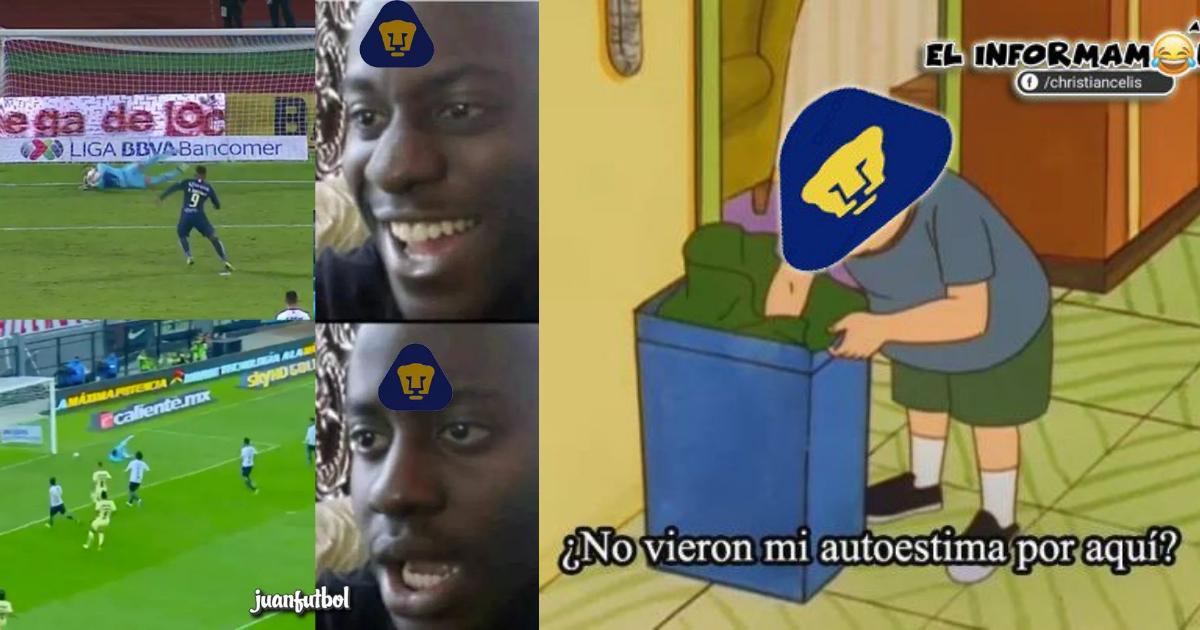 Los mejores memes del América vs. Pumas de la Liga MX | Erizos