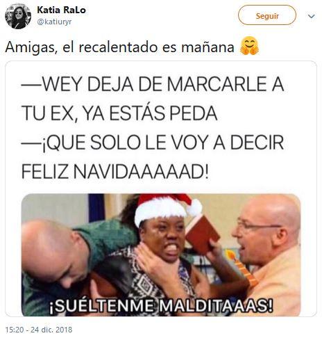 Memes recalentados para sobrevivir la cruda navidad