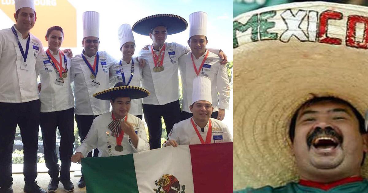 México Ganador Copa Mundial Culinaria, Copa Mundial Culinaria Luxemburgo, Instituto Culinario De México, Mexico Culinary Team, Equipo Culinario De México, Copa Mundial Culinaria