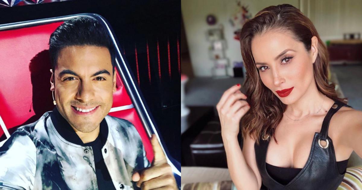 La novia de Carlos Rivera le comenta en Instagram, Novia de Carlos Rivera, Carlos Rivera, Cynthia Rodríguez, Carlos Rivera La voz, La Voz