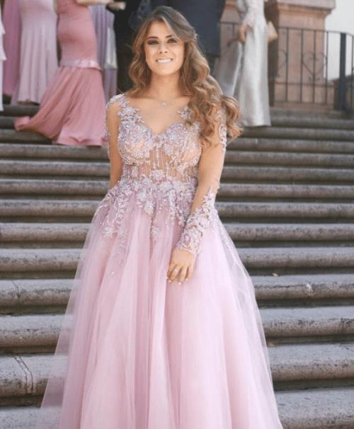 Paulina Peña opaca a novios en boda de perla ealy