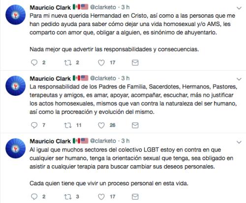 Mauricio Clark afirma que ya no es puto, pero le sigue yendo al América