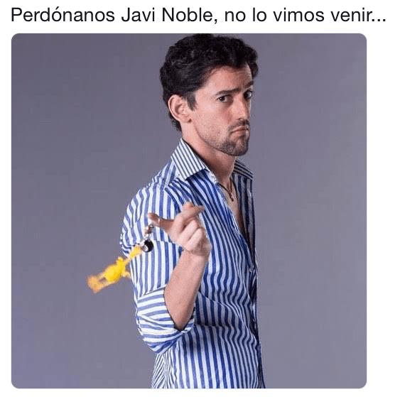 Luis Gerardo Méndez bloqueará memes de Javi Noble