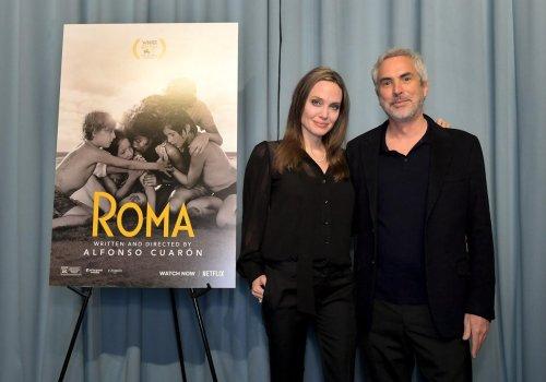 Angelina Jolie y Yalitza Aparicio se reúnen