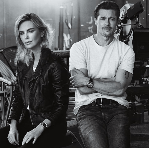 Aseguran que Brad Pitt y Charlize Theron mantienen noviazgo