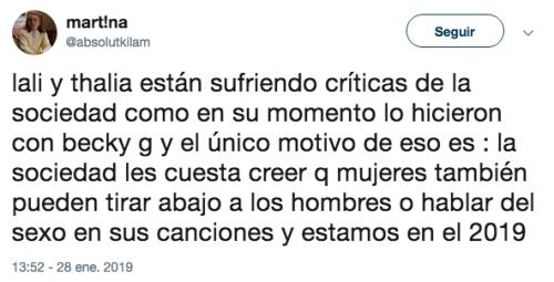 """Nueva canción de Thalía genera polémica por """"criticar"""" a los hombres"""