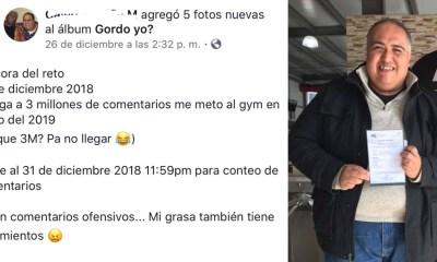 Hombre Pide 3 Millones Comentarios Facebook Entrar Gimnasio, Gimnasio, Facebook, Comentarios, Entrar Al Gimnasio, Gym