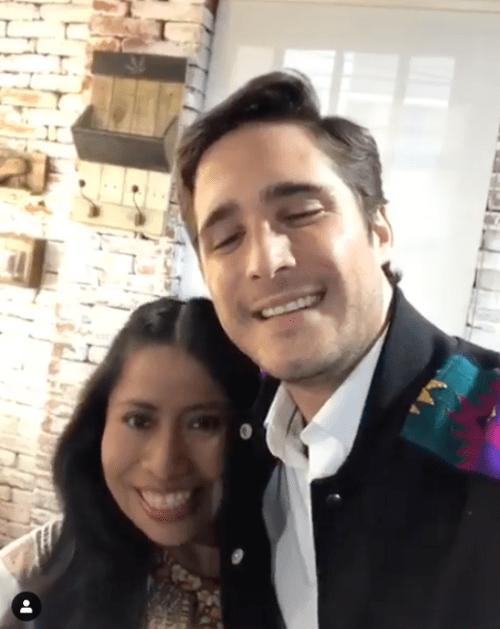 Yalitza Aparicio y Diego Boneta anuncian proyecto juntos