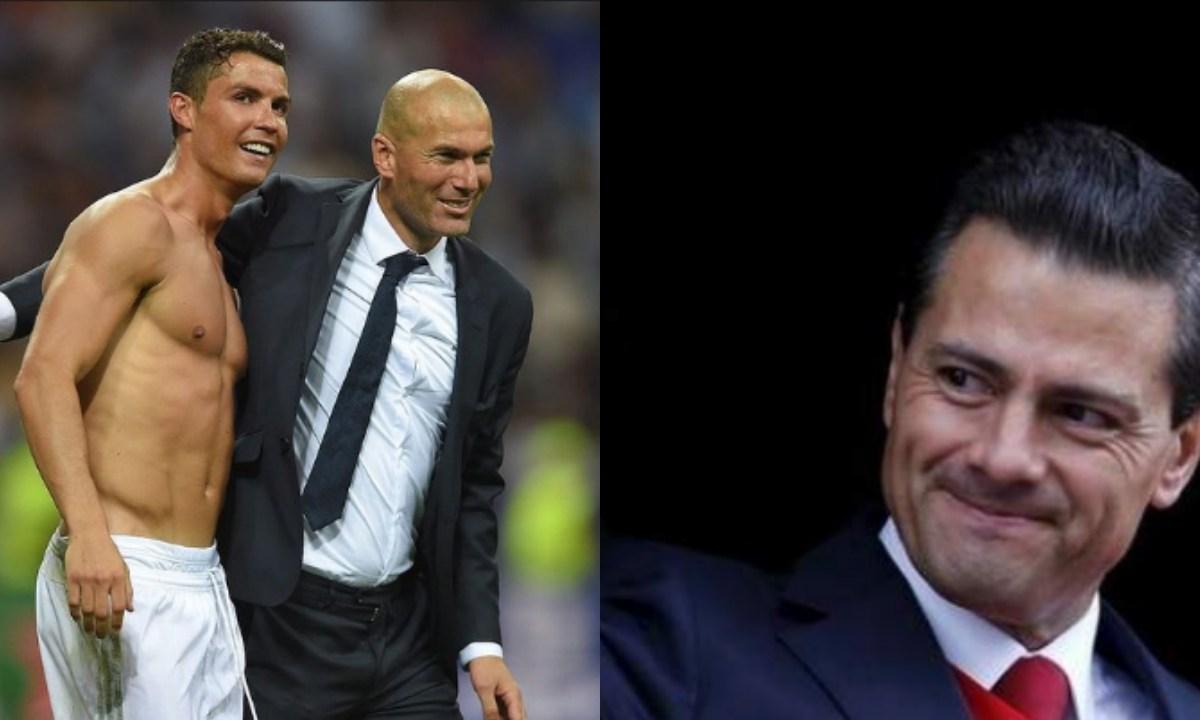 Cristiano Ronaldo y Zidane tienen un nuevo vecino y es EPN