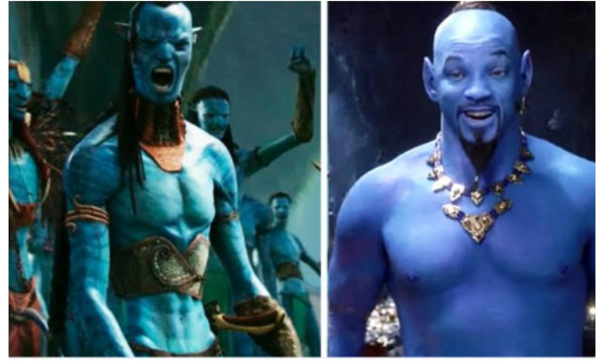 Memes de Will Smith como el genio de Aladdin