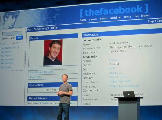 Así ha cambiado facebook en 15 años