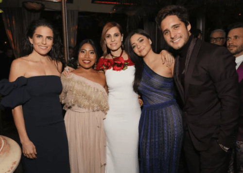Las fotos de Yalitza Aparicio con otros famosos y famosas