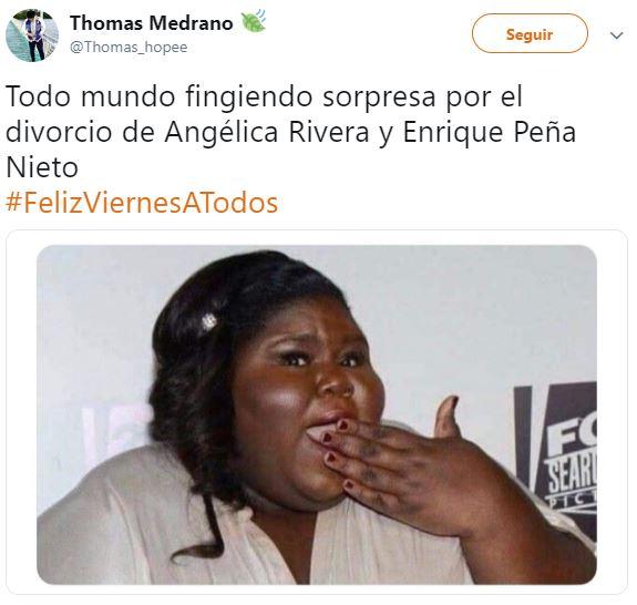 Memes del divorcio de Enrique Peña Nieto y Angélica Rivera