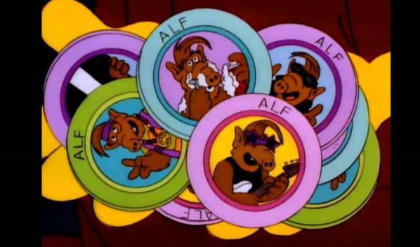 '¿Te acuerdas de Alf?, volvió. En forma de fichas.'