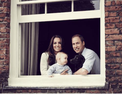 La historia del perro de Kate Middleton y William