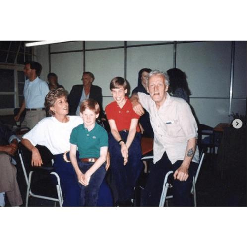Foto inédita de la princesa Diana con sus hijos