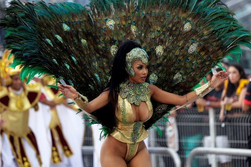 Mejores fotos del carnaval de Brasil