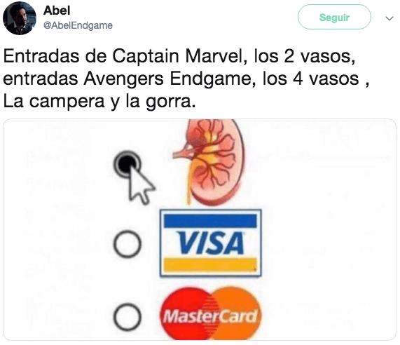 Los mejores memes de Avengers Endgame