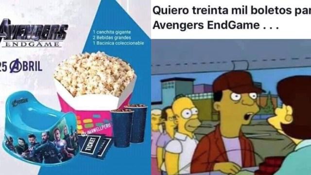 memes de avengers endgame