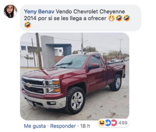 Mujer choca auto por celos