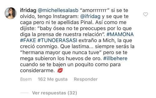 El pleito entre Frida Sofía y Michelle Salas