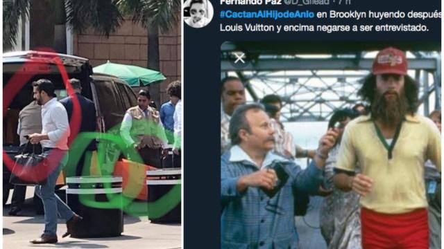 Pedro Ferriz comparte foto falsa del hijo de AMLO