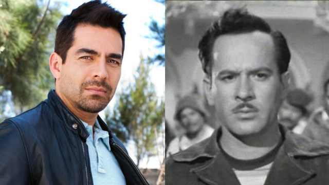 Foto de Omar Chaparro como Pedro Infante