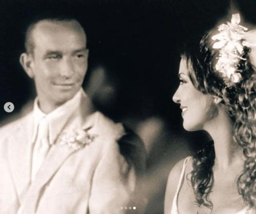 Andrea Legarreta celebra aniversario de bodas con Erik Rubín