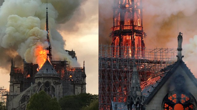 Fotos Videos Incendio Catedral De Notre Dame, Catedral De Notre Dame Incendio, Incendio Catedral De Notre Dame, Fotos, Videos, Incendio
