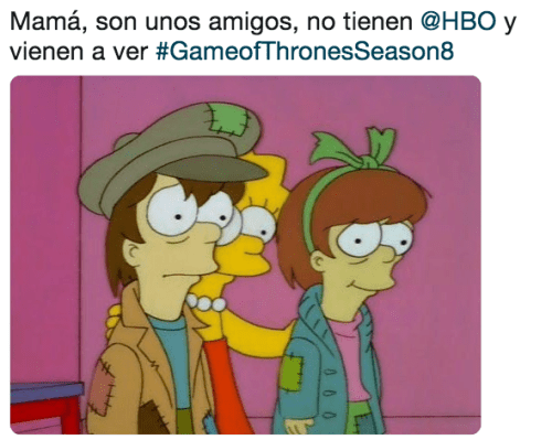 Memes de la nueva temporada de Game of Thrones