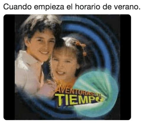 Memes del horario de verano 2019