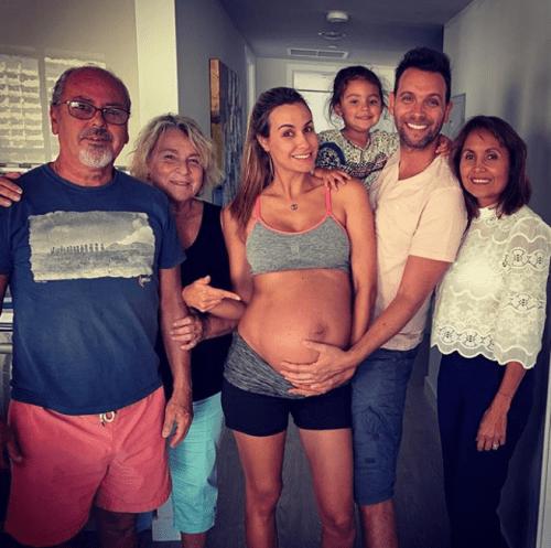 Nace el bebé de Odalys Ramírez y Patricio Borghetti