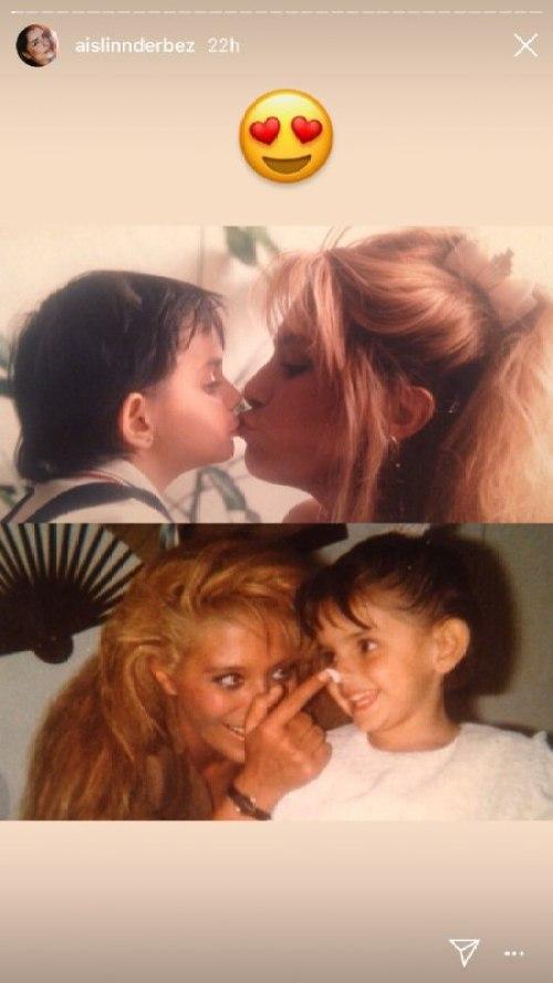 Aislinn Derbez festeja el día de las madres