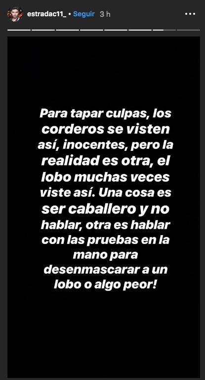 Christian Estrada manda directa a Frida Sofía