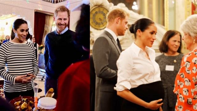 Corona británica habla del bebé de Meghan Markle