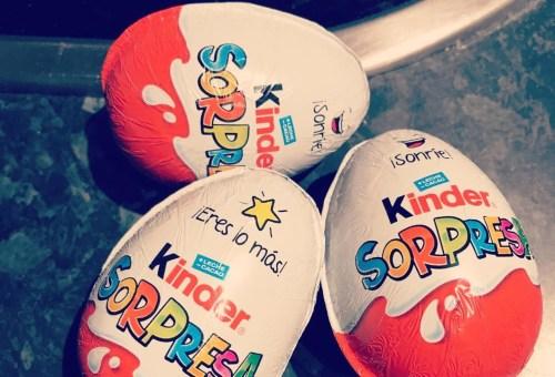 Los mejores juguetes del huevo kinder sorpresa