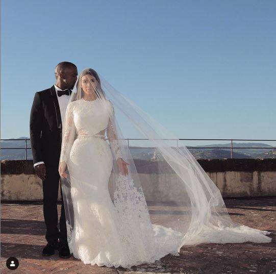Primera foto del bebé de Kim Kardashian, Psalm West