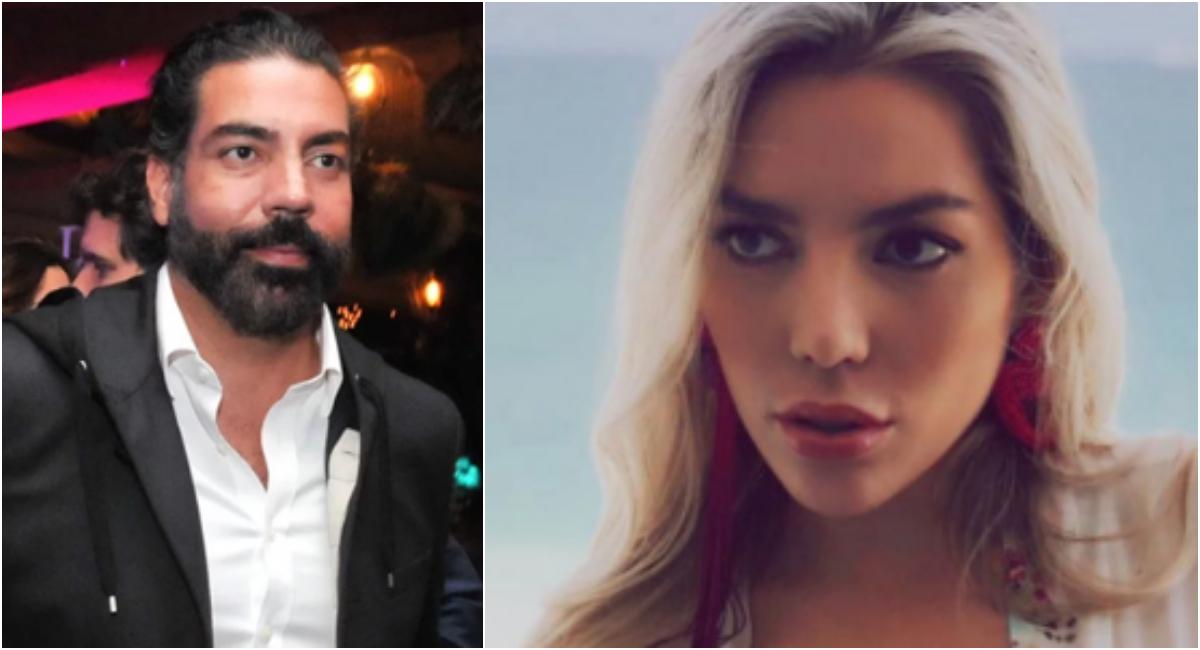 Sofia Guzmán se quiebra en llanto al hablar de su papá