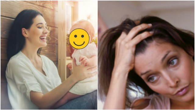 Mamás solteras duermen más que las casadas