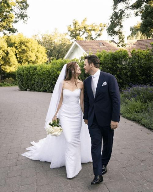 Chris Pratt y Katherine Schwarzenegger se casaron