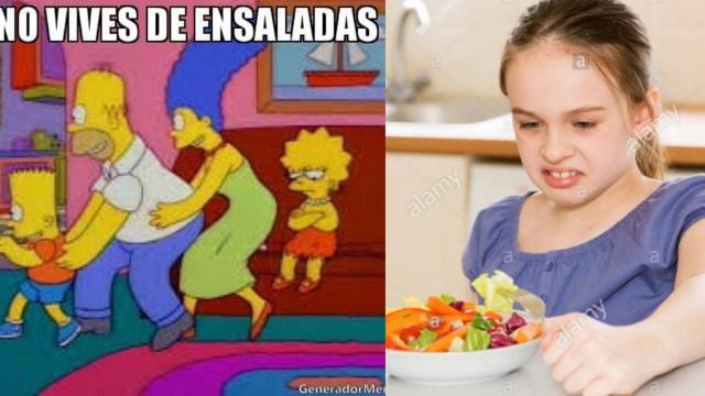 Ciencia confirma que las ensaladas no ayudan a bajar de peso