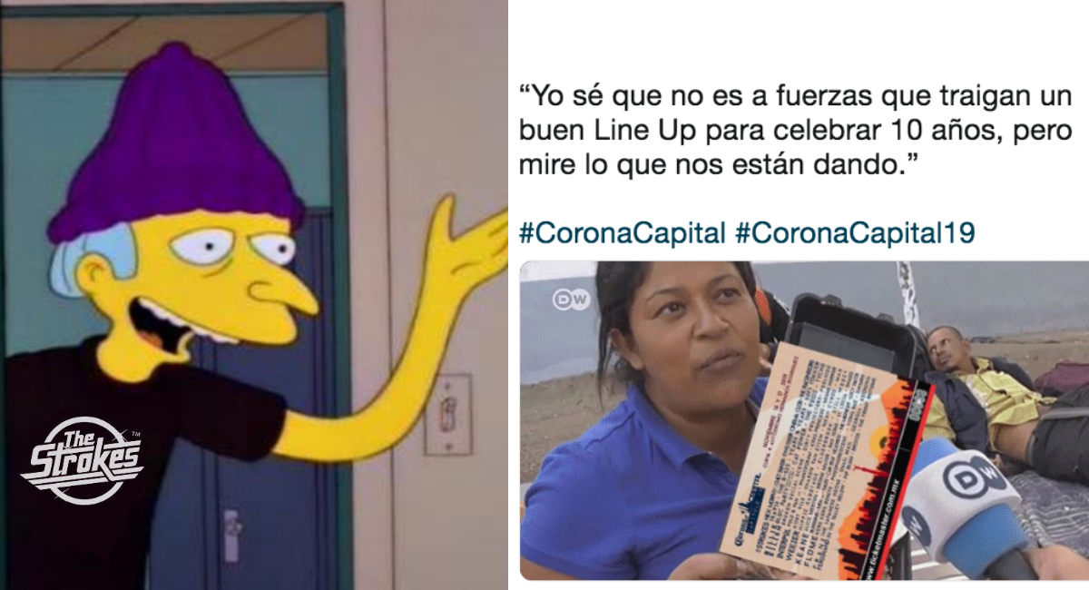Corona Capital 2019, Memes, Memes Corona Capital 2019, Corona Capital, Corona Capital Memes, Corona Capital 2019 CDMX