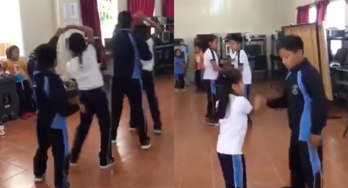 Resultado de imagen para VIDEO: Niños tienen clase de educación física... a ritmo de cumbia